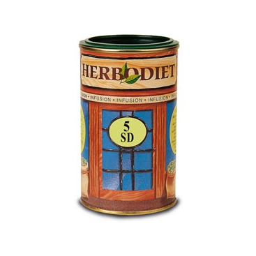Herbodiet nº 5 SD bote de 80 grs. Novadiet