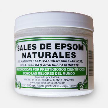 Sales de Epsom naturales 300 grs. - Santa Isabel