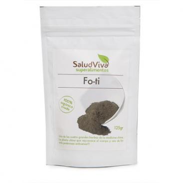 Fo-Ti en polvo (HE-SHOW-WU). 125 grs. Salud Viva