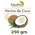 Harina De Coco. 250 grs. Salud Viva
