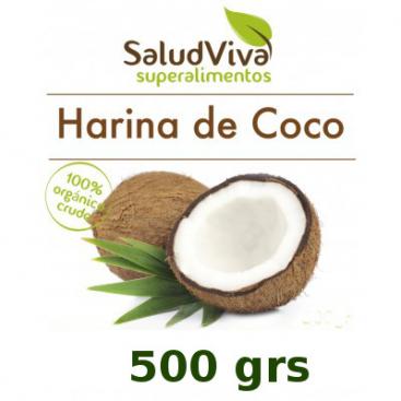 Harina De Coco. 500grs Salud Viva