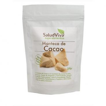 Manteca de Cacao en obleas. 250 grs. Salud Viva