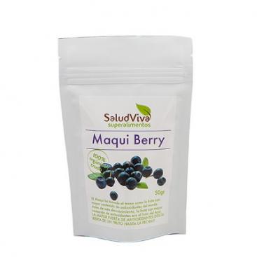 Maqui Berry en polvo. 50 grs. Salud Viva