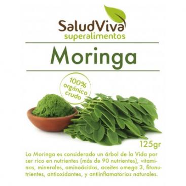 Moringa en polvo. 125 grs. Salud Viva
