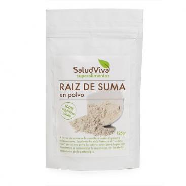 Raiz de Suma en polvo. 125 grs. Salud Viva