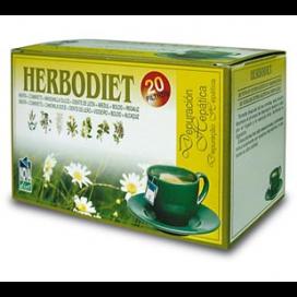 Herbodiet depuración hepática infusión 20 bols. Novadiet