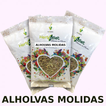 Alholvas molidas 100 grs. Herbodiet de Novadiet