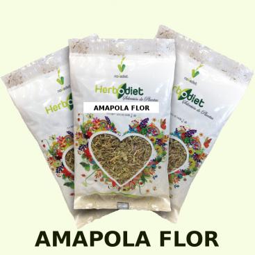 Amapola flor 20 grs. Herbodiet de Novadiet