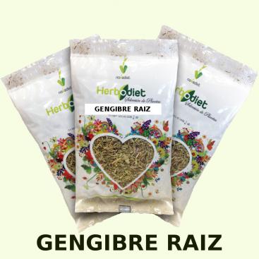 Gengibre raíz 60 grs. Herbodiet de Novadiet