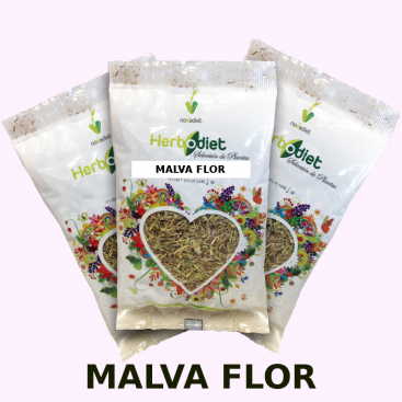 Malva flor 20 grs.Herbodiet de Novadiet