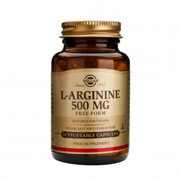 L-Arginina 500 mg. 50 capsulas, Solgar