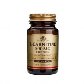 L-carnitina 500mg. 60 comprimidos, Solgar