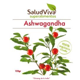 Ashwagandha en polvo 125 grs. Salud viva