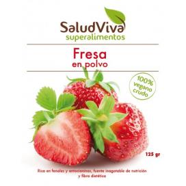 Fresa en polvo 125 grs. Salud Viva