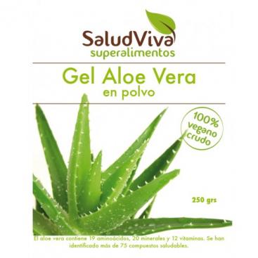 Gel Aloe Vera en polvo 250 grs. Salud Viva