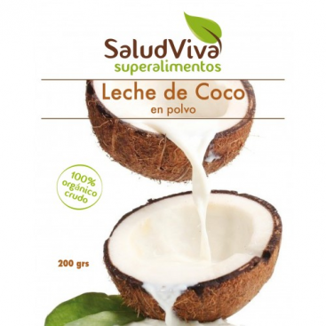 Leche de Coco en polvo 200 grs. Salud Viva