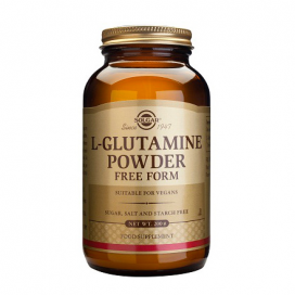 L-Glutamina en polvo 200 g, Solgar
