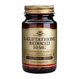 L-glutation 50 mg. 30 cápsulas, Solgar