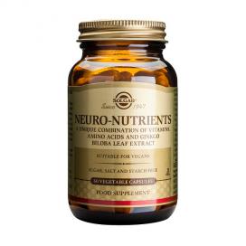 Neuro nutrientes. 60 cápsulas, Solgar