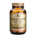 L-ornitina 500 mg. 50 cápsulas, Solgar