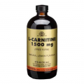 L-carnitina liquida 1500mg. 473 ml, Solgar
