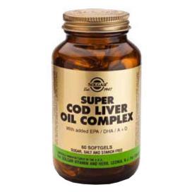 Super Cod Liver Oil complex. 60 cápsulas, Solgar