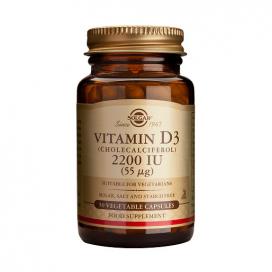 Vitamina D3 2200 ui. 50 cápsulas, Solgar