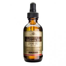 Vitamina D3 liquida 2500 ui. 59 ml, Solgar