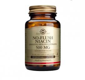 Niacina no ruborizante 500 mg. 50 cápsulas, Solgar