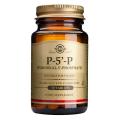 Piridoxal-5-fosfato (P-5-P) 50 mg. 50 comprimidos, Solgar