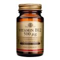 Vitamina b12 (Cobalamina) 500 mcg. 50 cápsulas, Solgar