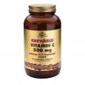 Vitamina C 500 masticable sabor frambuesa. 90 comprimidos, Solgar