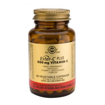Ester-c plus 500 mg. 100 cápsulas, Solgar