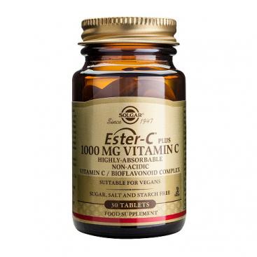 Ester-c plus 1000 mg. 30 comprimidos, Solgar