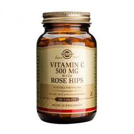 Rose hips C 500 mg. 100 comprimidos, Solgar