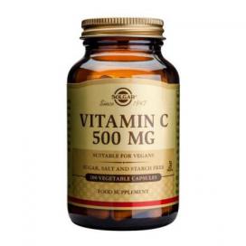 Vitamina C 500 mg. 100 cápsulas, Solgar