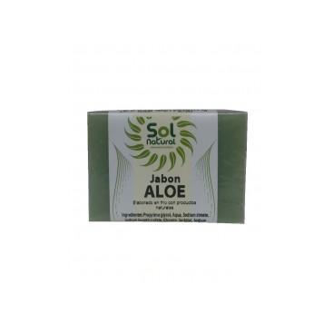 Jabón natural Aloe Vera 100 grs., Solnatural