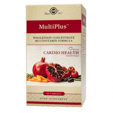 Multiplus Cardio 90 comprimidos, Solgar