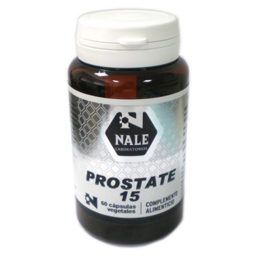 Prostate 15 60 cápsulas Nale