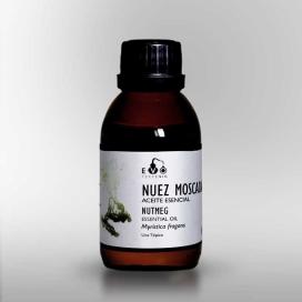 Nuez Moscada aceite esencial BIO 100ml. Evo - Terpenics