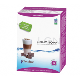Light nova batido chocolate 6 sobres Novadiet