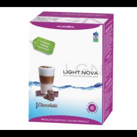 Light nova batido chocolate 6 sobres Novadiet