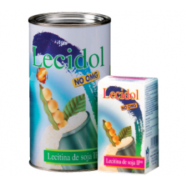 Lecidol lecitina de soja bote 500 grs. Novadiet