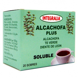 Alcachofa plus soluble 20 sobres Integralia
