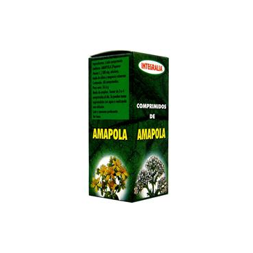 Amapola 500 mg. 60 comprimidos Integralia
