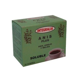 Anís plus soluble 20 sobres Integralia
