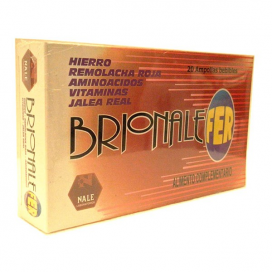 Brionale fer 20 ampollas Nale