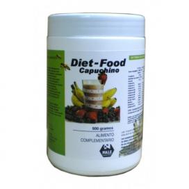 Diet food batido sabor capuccino 500 grs. Nale
