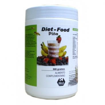 Diet food batido sabor piña 500 grs. Nale