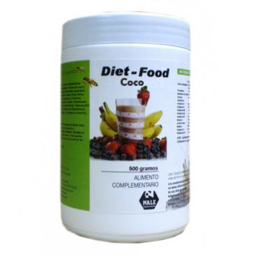 Diet food batido sabor coco 500 grs. Nale